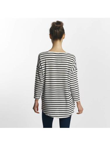 Only Mujeres Camiseta de manga larga onlElcos in blanco