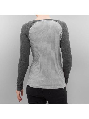 Only Mujeres Camiseta de manga larga onlSophia Liberte in gris