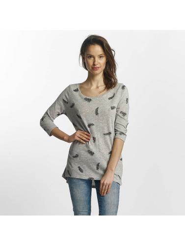 Only Mujeres Camiseta de manga larga Casa 3/4 in gris