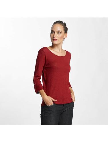 Bare Kvinner Langermet Skjorte Onljess 3/4 I Rødt gratis frakt 2015 X2hVy3p