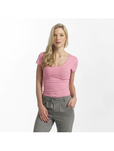Only Mujeres Camiseta onlLive in fucsia