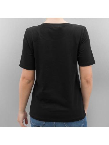 Only Mujeres Camiseta onlFoil Print in negro