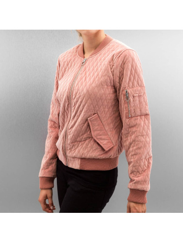 Only Mujeres Cazadora bomber onlDarion in rosa