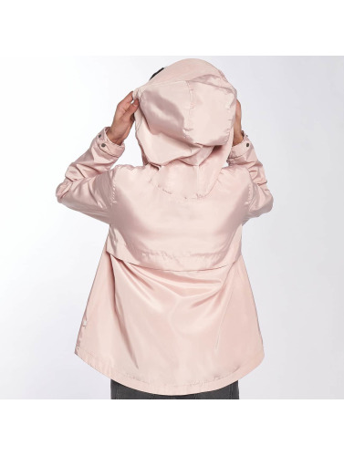 Only Mujeres Chaqueta de entretiempo onlLina Nylon Parka in rosa