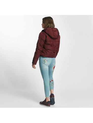 Only Mujeres Chaquetas acolchadas onlCille Quilted in rojo