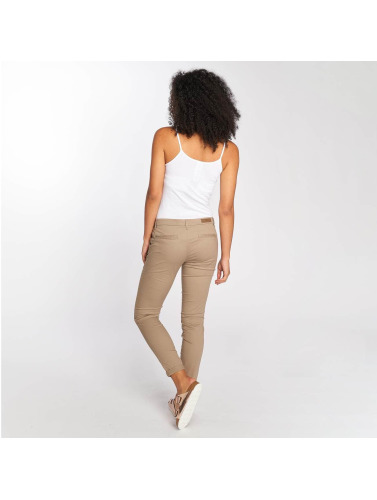 Only Mujeres Chino onlParis Low Skinny in beis