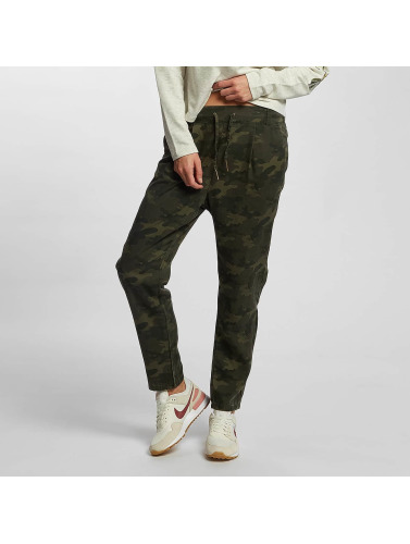 Only Damen Chino onlLilah Poptrash Lyocell Camu in camouflage