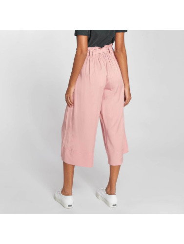 Only Mujeres Chino onlDevon Paperbagwaist in rosa