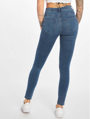 Only Damen High Waist Jeans onlRoyal Highwaist in blau