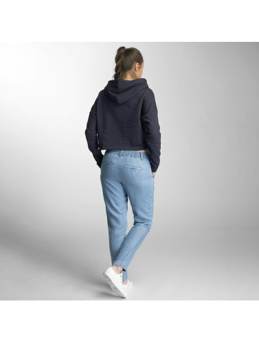 Only Damen Hoody onlHana Cropped in blau