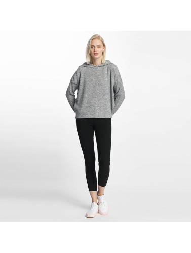 Only Damen Hoody onlIda Knit in grau