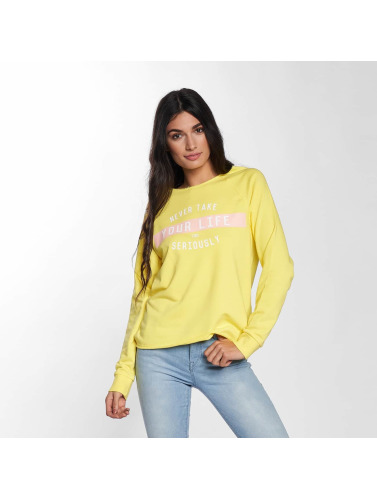 Only Mujeres Jersey onlSophia Batwing Unbrushed in amarillo