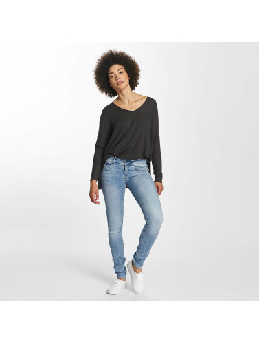 Only Mujeres Jersey onlMaye V-Neck in gris