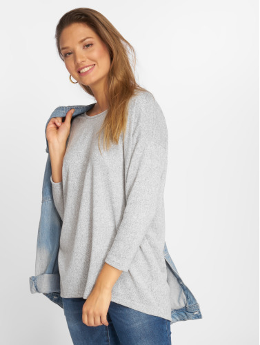 Only Mujeres Jersey onlElcose 4/5 Solid in gris