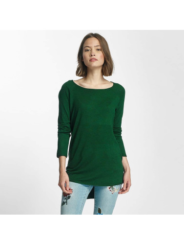 Only Mujeres Jersey onlMila Lacy Long in verde