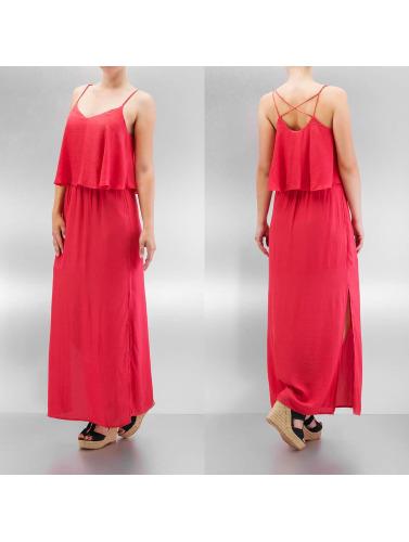 Only Damen Kleid onlMojo Solid Strap Maxi in rot