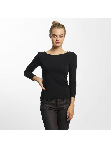 Only Damen Longsleeve onlLive Love 7/8 Lace Up in blau