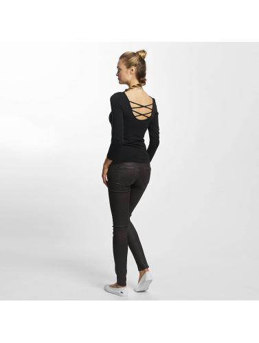 Zum Verkauf Online-Verkauf Only Damen Longsleeve onlLive Love 7/8 Lace Up in blau Kaufen Preiswerte Qualität Top-Qualität Zum Verkauf Günstig Kaufen Mit Paypal CSXgg
