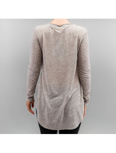 Only Damen Longsleeve onlClara in grau