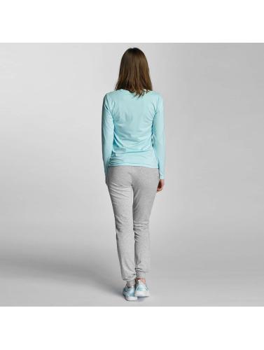 Only Play Damen Longsleeve onpClaire Plain in blau