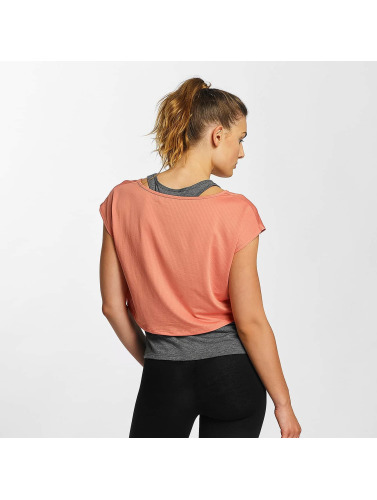 Only Play Damen T-Shirt onpChris Double in rosa