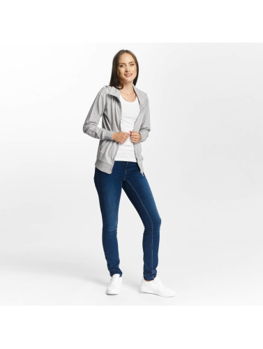 Only Play Damen Übergangsjacke onpLina High Neck Zipper in grau
