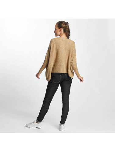 Only Damen Pullover onlMeredith 7/8 Oversize in beige