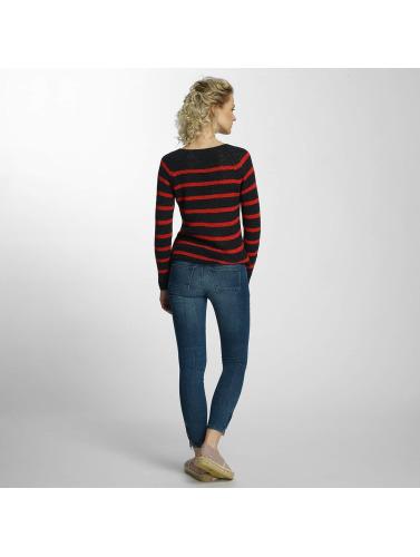 Only Damen Pullover onlTappy Stripe in blau