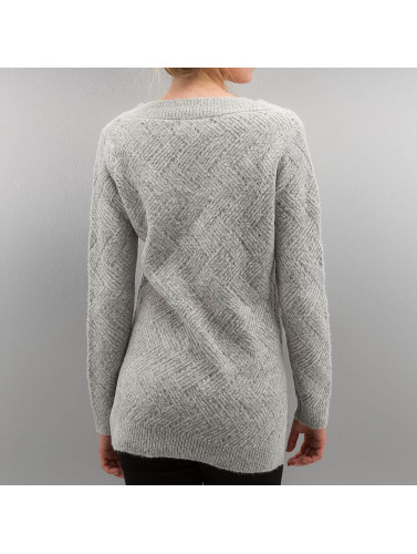 Only Damen Pullover onlBretagne in grau