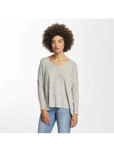 Only Damen Pullover onlMaye V-Neck in grau