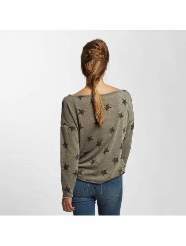 Only Damen Pullover onlGalaxy in grau