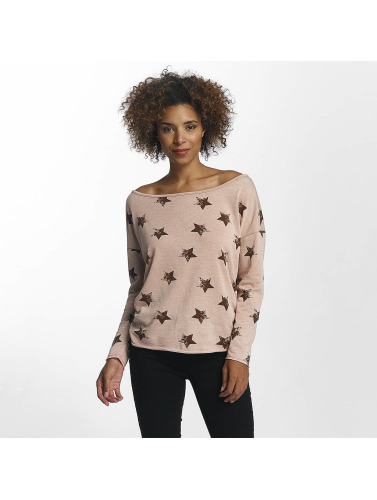 Only Damen Pullover onlGalaxy in rosa