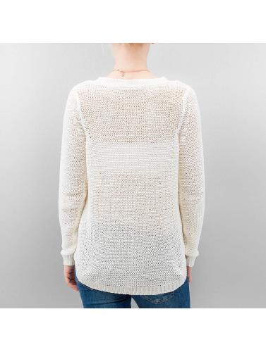 Only Damen Pullover onlGeena XO in weiß