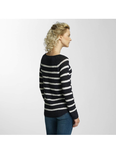 Only Damen Pullover onlTappy Stripe in weiß