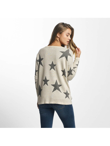 Only Damen Pullover onlStarling America in weiß