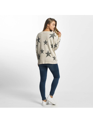 Only Damen Pullover onlStarling America in weiß