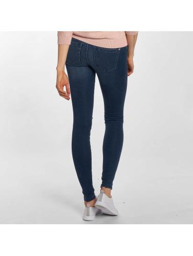 Only Damen Skinny Jeans onlRoyal Regular Knee Cut in blau