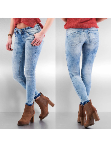 Only Damen Skinny Jeans onlCoral in blau