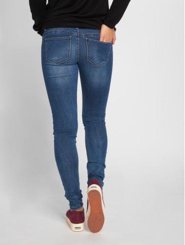 Only Damen Skinny Jeans onlCoral Slim in blau