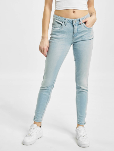 Only Damen Skinny Jeans onlKendell Regular Ankle in blau