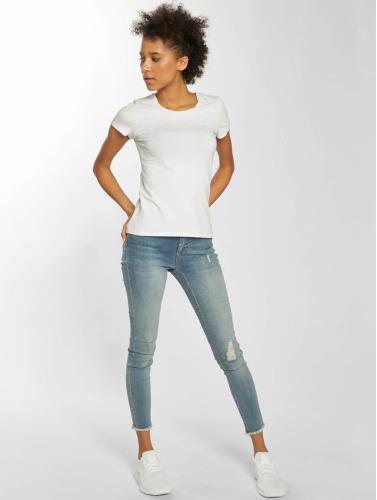 Only Damen Skinny Jeans onlBlush in blau