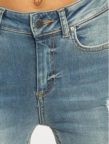 Seulement Damen Jeans Skinny Onlblush À Blau
