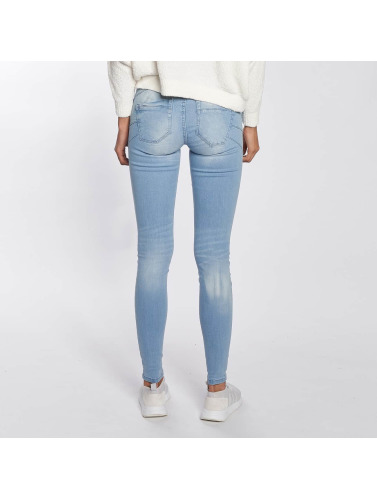 Only Damen Skinny Jeans onlAllan Pushup in blau