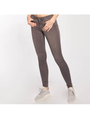 Only Damen Skinny Jeans onlRoyal Regular in grau