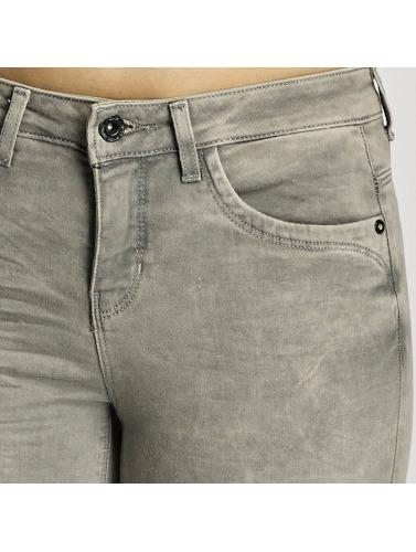 Only Damen Skinny Jeans onlKendell in grau