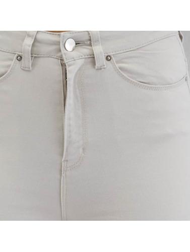 Only Damen Skinny Jeans stuStudio Skin Ankle Color in grau