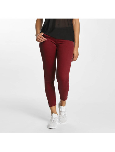 Only Damen Skinny Jeans onlSerena in rot