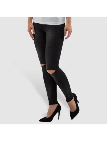 Only Damen Skinny Jeans onlRoyal Regular Ankle in schwarz