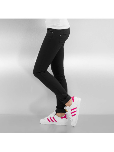 Only Damen Skinny Jeans onlLucia in schwarz