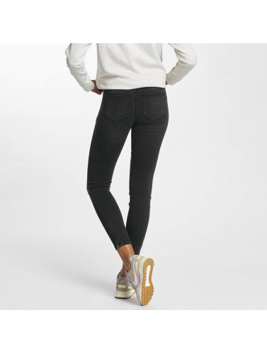 Only Damen Skinny Jeans onlKendell Regular Ankle in schwarz